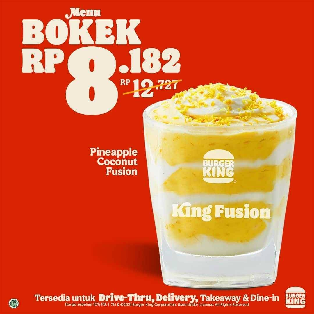 Promo diskon Burger King Promo Menu Bokek