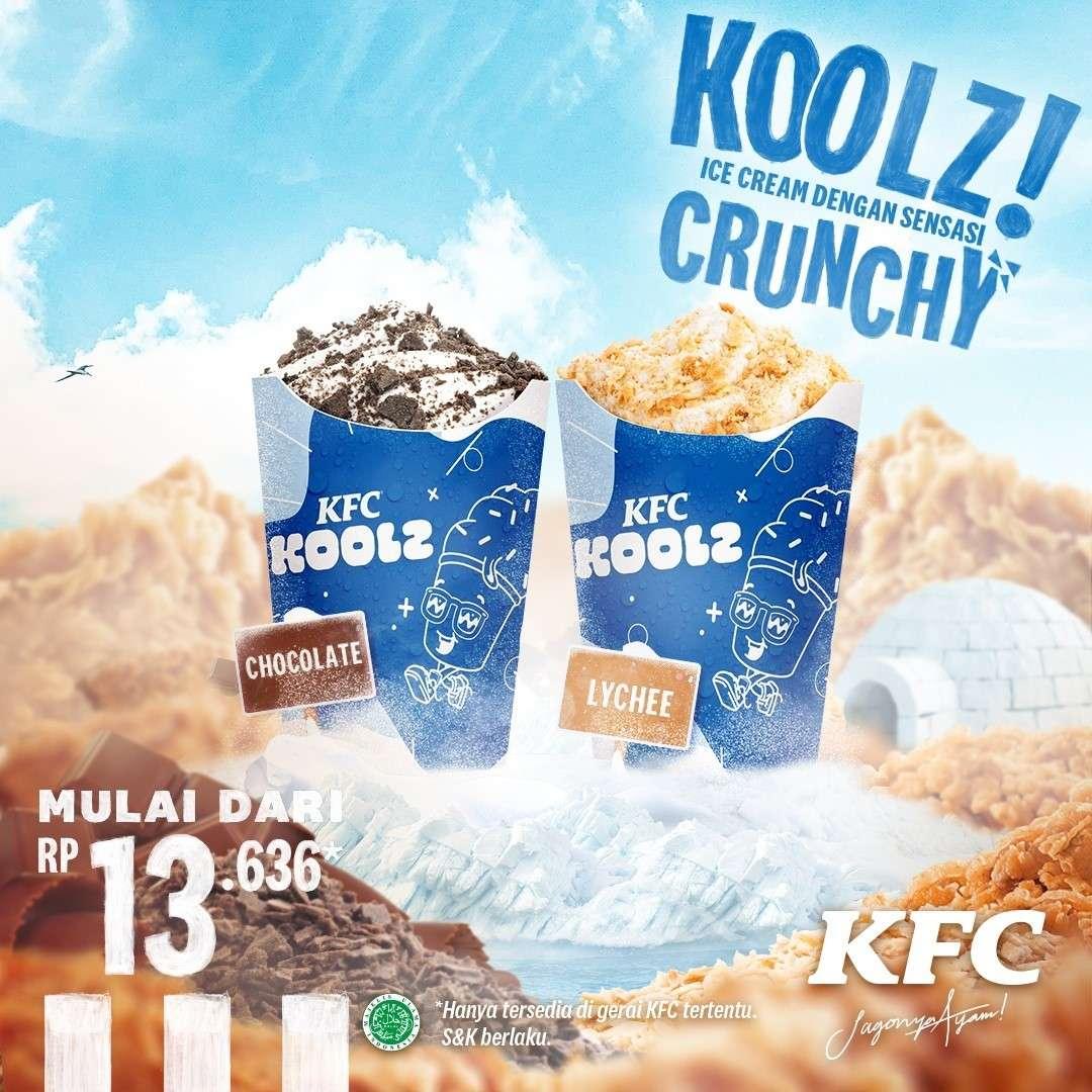 Diskon KFC Promo KFC Koolz Mulai Dari Rp. 13Ribuan