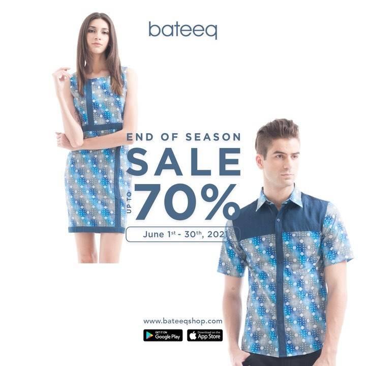 Diskon Bateeq End Of Season Sale Up To 70% Off