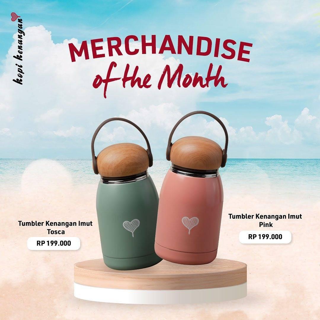 Diskon Kopi Kenangan Promo Marchandise Of The Month