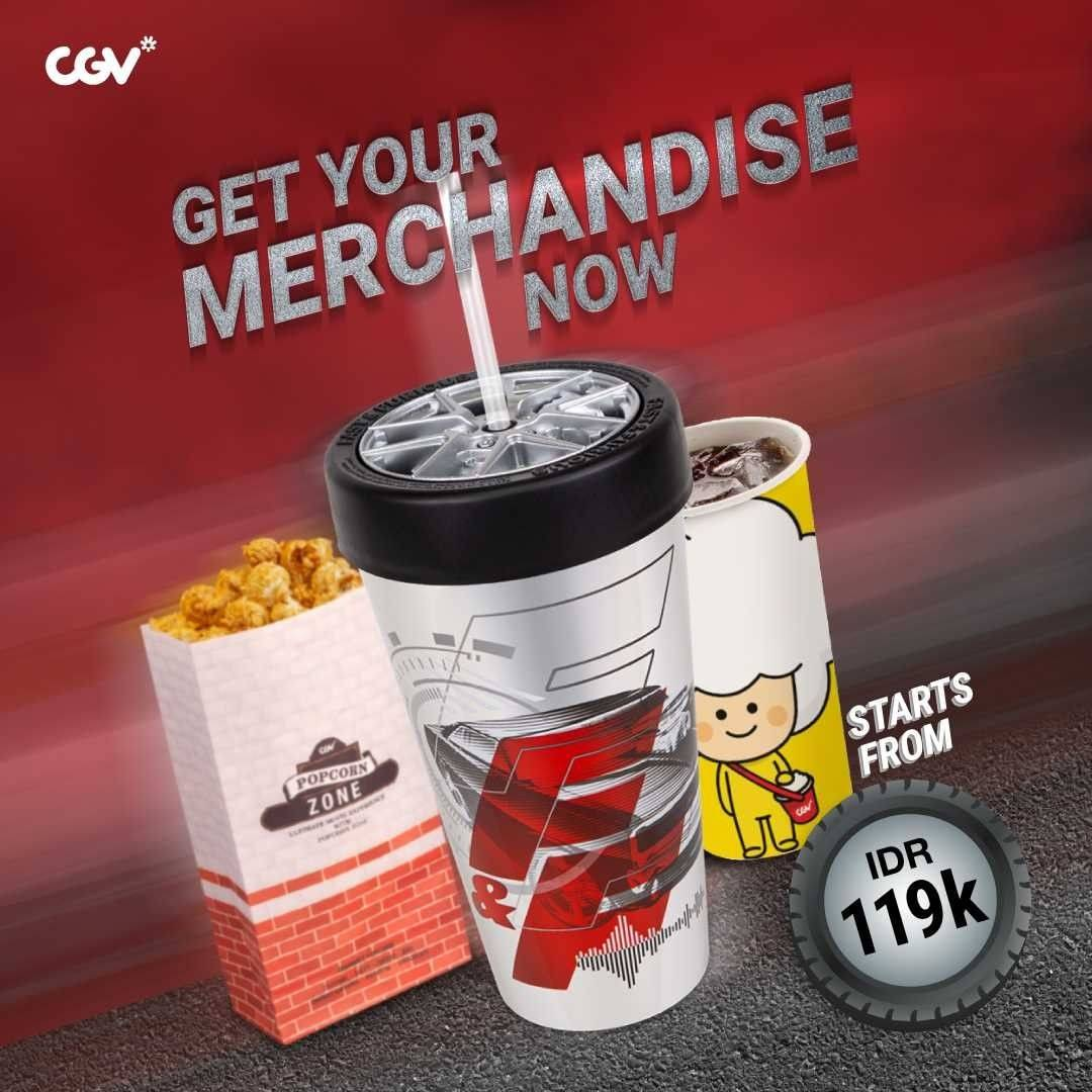 Diskon CGV Marchendise Only For Rp. 119.000