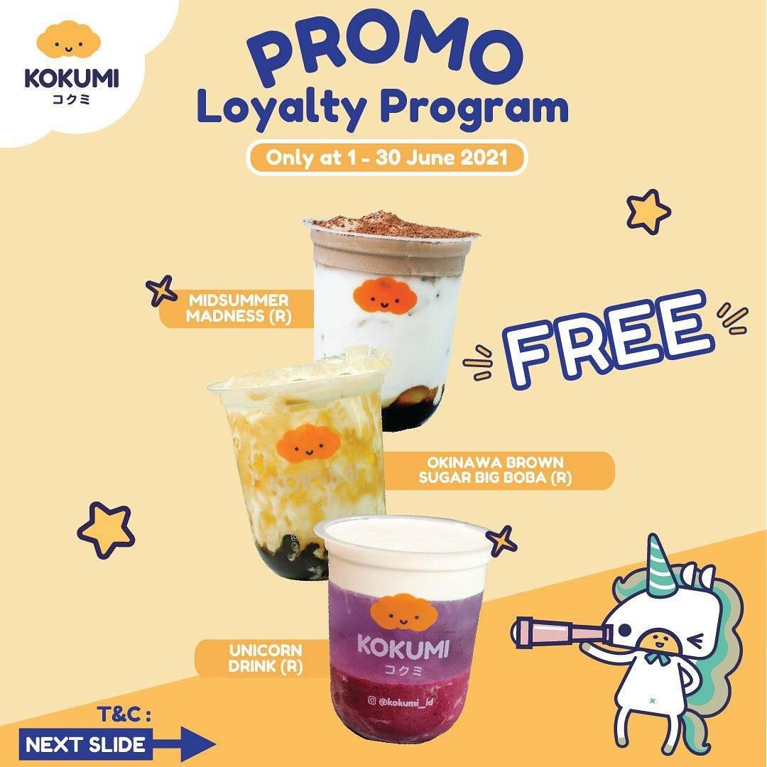 Diskon Kokumi Promo Loyalty Program