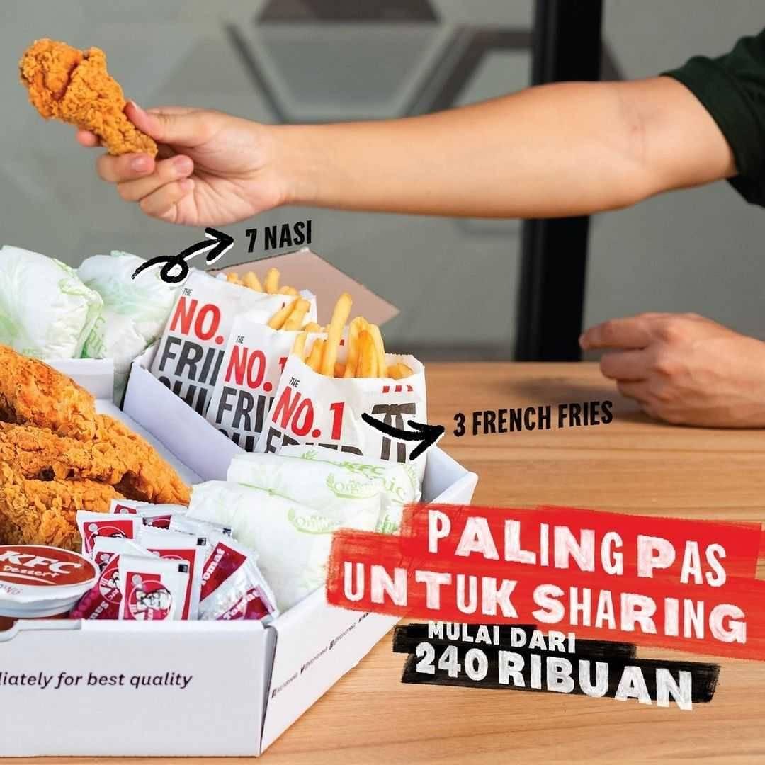 Promo diskon KFC Promo Mega Kombo Harga Mulai Dari Rp. 240Ribuan