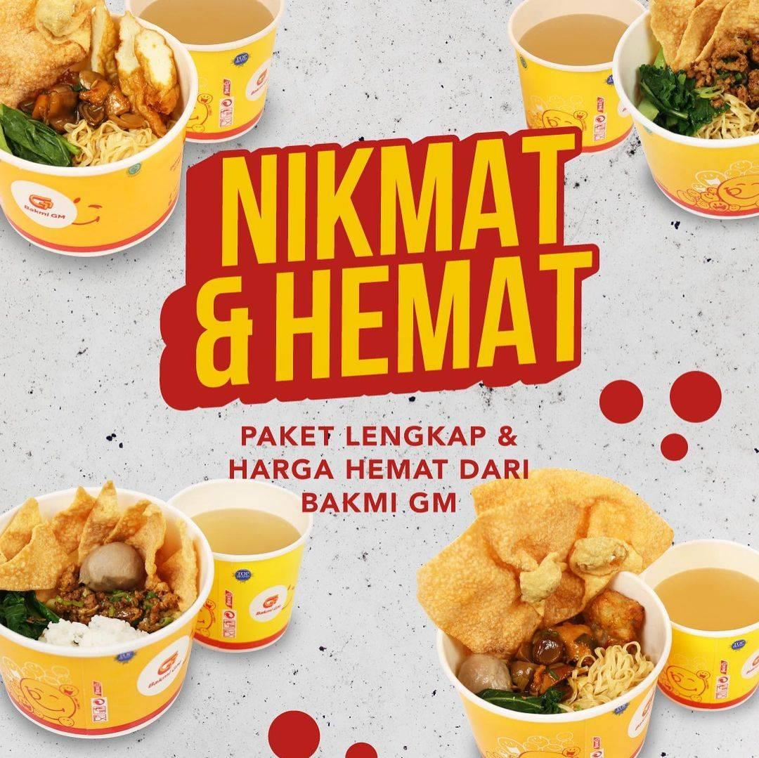 Diskon Bakmi GM Promo Nikmat & Hemat Menu Mulai Dari Rp. 20.000