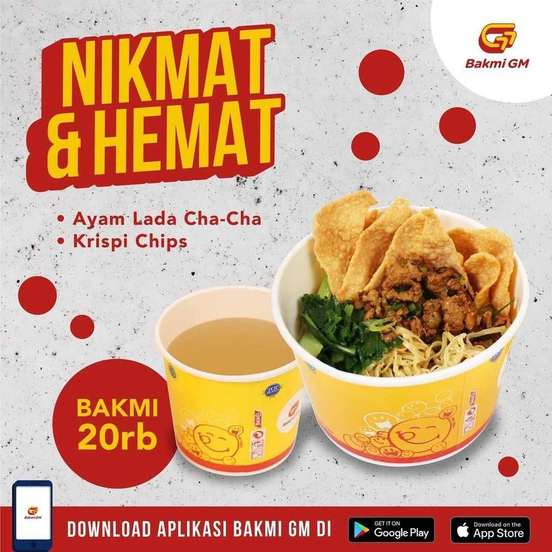 Promo diskon Bakmi GM Promo Nikmat & Hemat Menu Mulai Dari Rp. 20.000