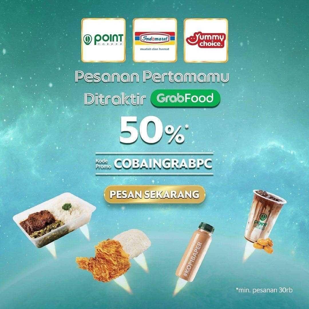 Promo diskon Point Coffee Discount 50% Off On Morning Coffee & Tea