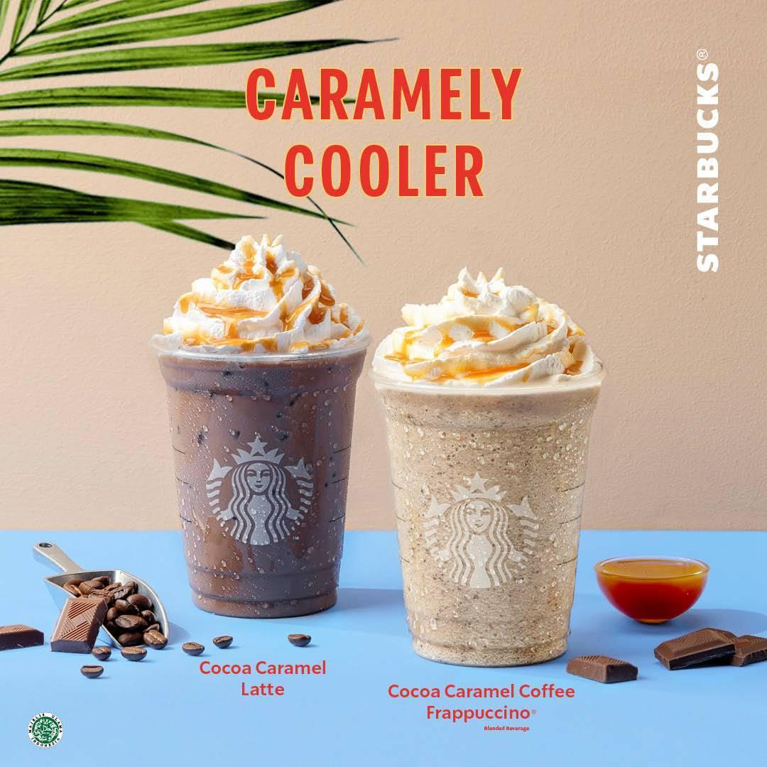 Diskon Starbucks Promo Diskon Hingga 50% Untuk Caramely Cooler
