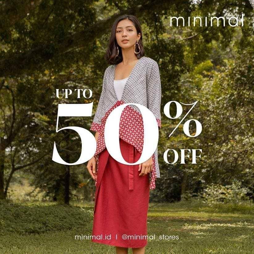 Diskon Minimal Discount 50% Off