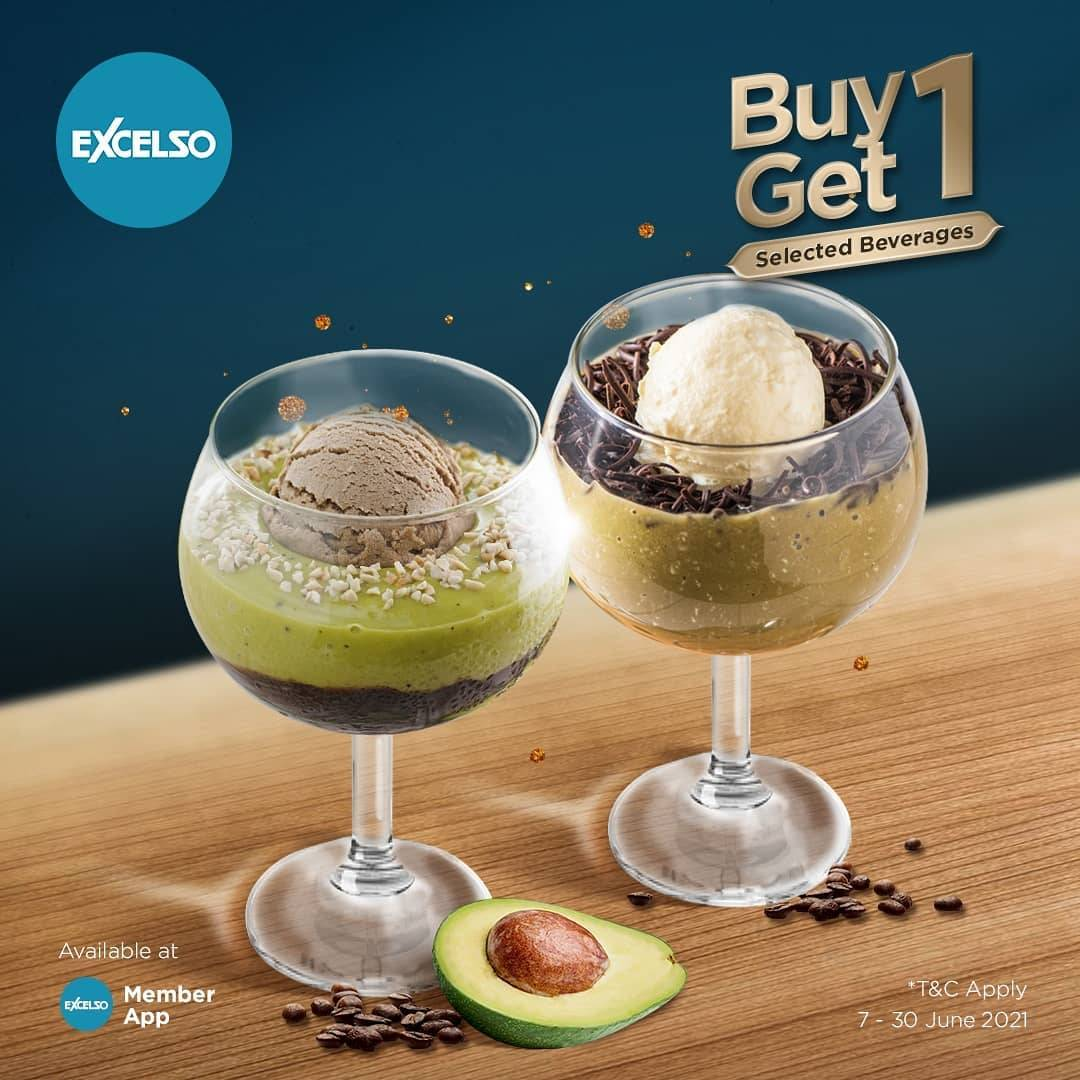 Diskon Excelso Buy 1 Get 1 Free Selected Beverages
