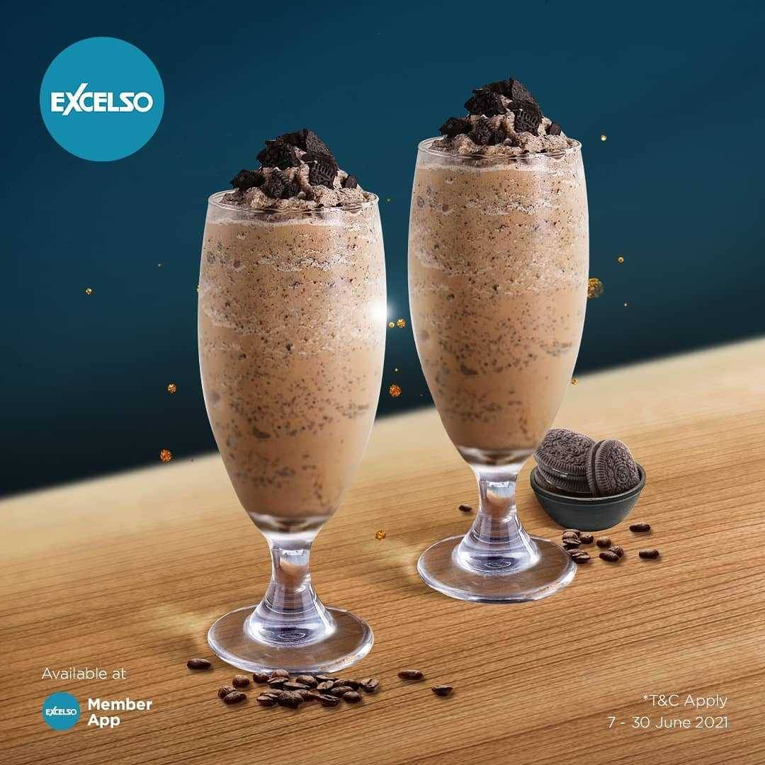 Promo diskon Excelso Buy 1 Get 1 Free Selected Beverages