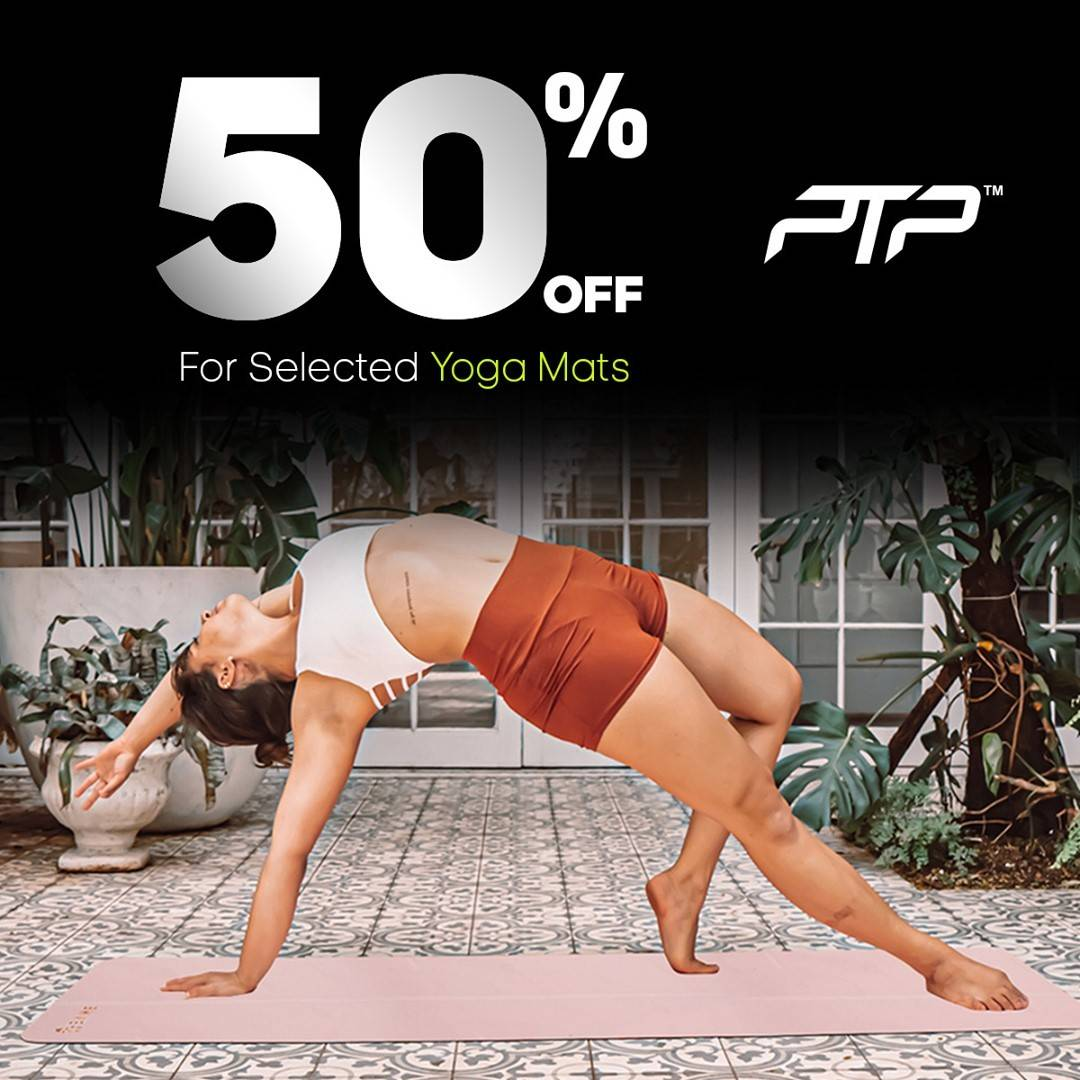 Diskon Planet Sports Discount 50% Off On Selected Yoga Mats