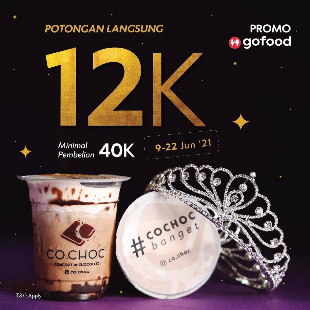 Diskon Co Choc Potongan Langsung Rp. 12.000 Hanya Dengan GoFood