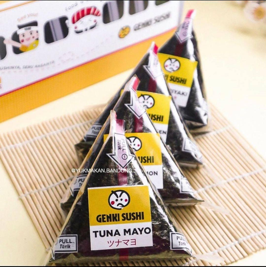 Diskon Genki Sushi Promo 4 Pcs Onigiri Hanya Rp. 50.000