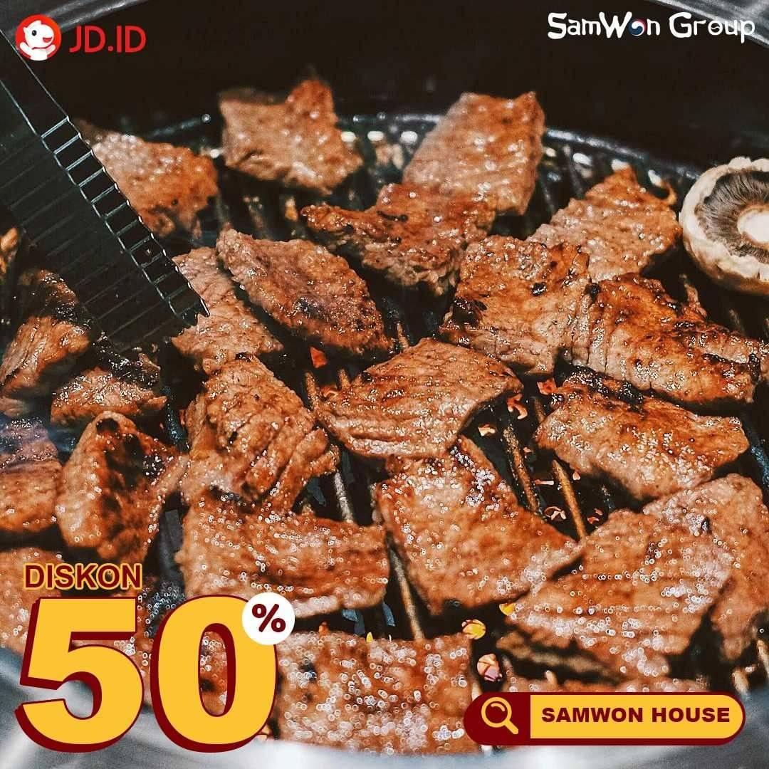 Diskon Samwon Group Diskon 50% Dengan JD.ID