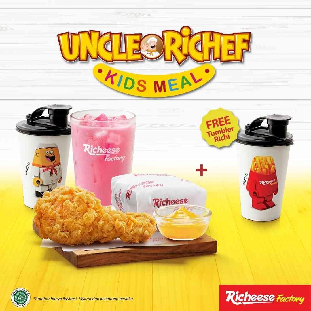 Diskon Richeese Factory Promo Kids Meal Gratis Tumbler Richi