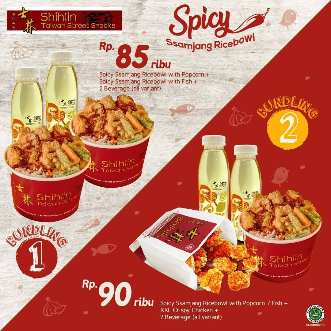 Diskon Shihlin Promo Spicy Ssamjang Ricebowl Mulai Dari Rp. 85.000