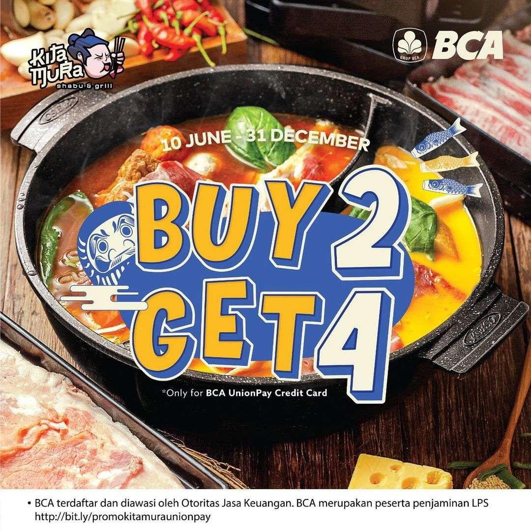 Diskon Kitamura Buy 2 Get 4 All You Can Eat Shabu Shabu Makushita