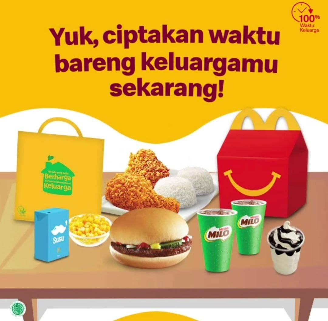 Diskon McDonalds Promo Paket Family Time McD