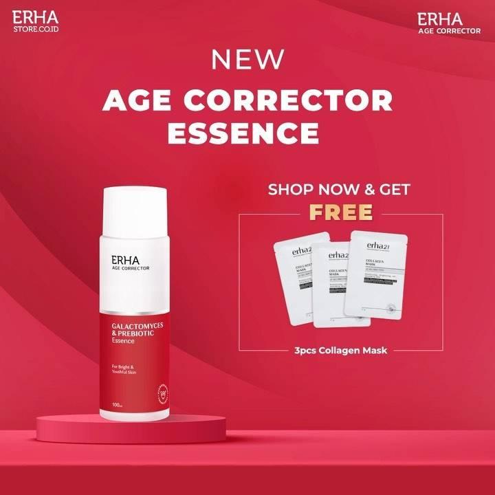 Diskon Erha Get Free 3Pcs Collagen Mask