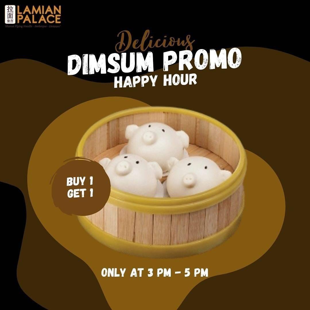 Diskon Lamian Palace Delicious Dimsum Promo Buy 1 Get 1 Free