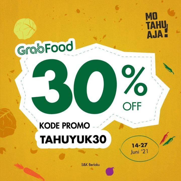 Diskon Mo Tahu Aja Discount 30% Off On GrabFood
