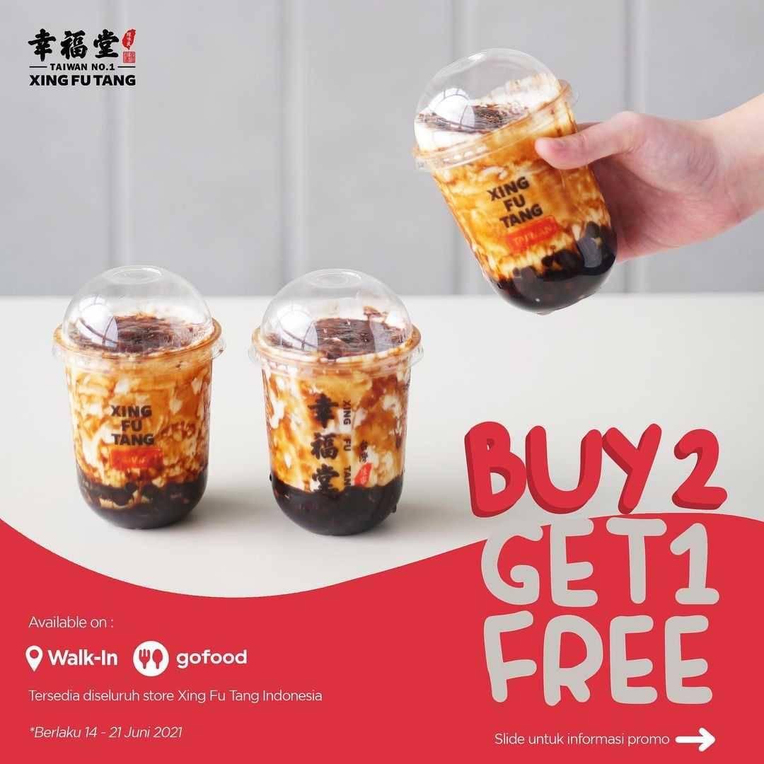 Diskon Xing Fu Tang Buy 2 Get 1 Free Dengan GoFood