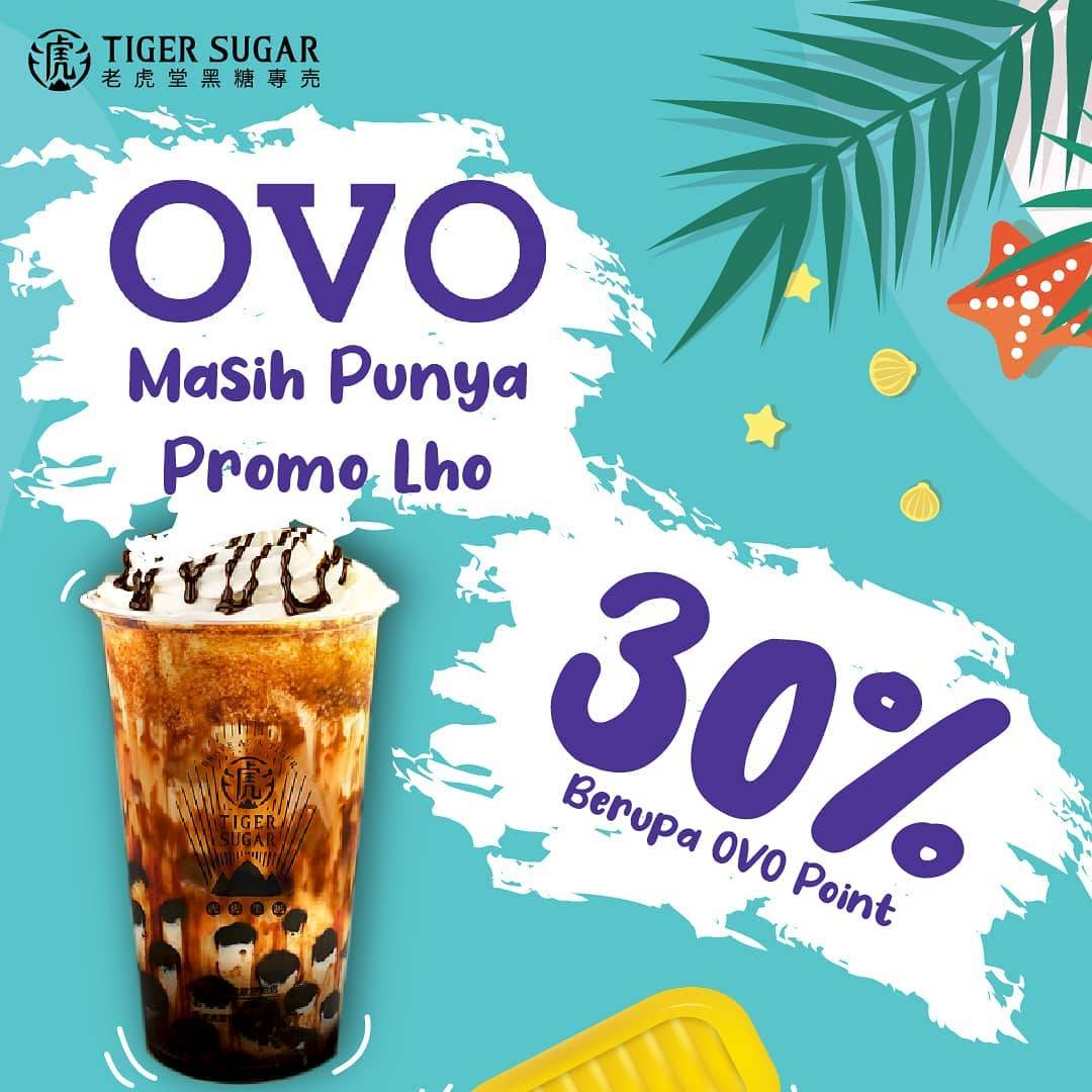 Diskon Tiger Sugar Cashback 30% OVO Points