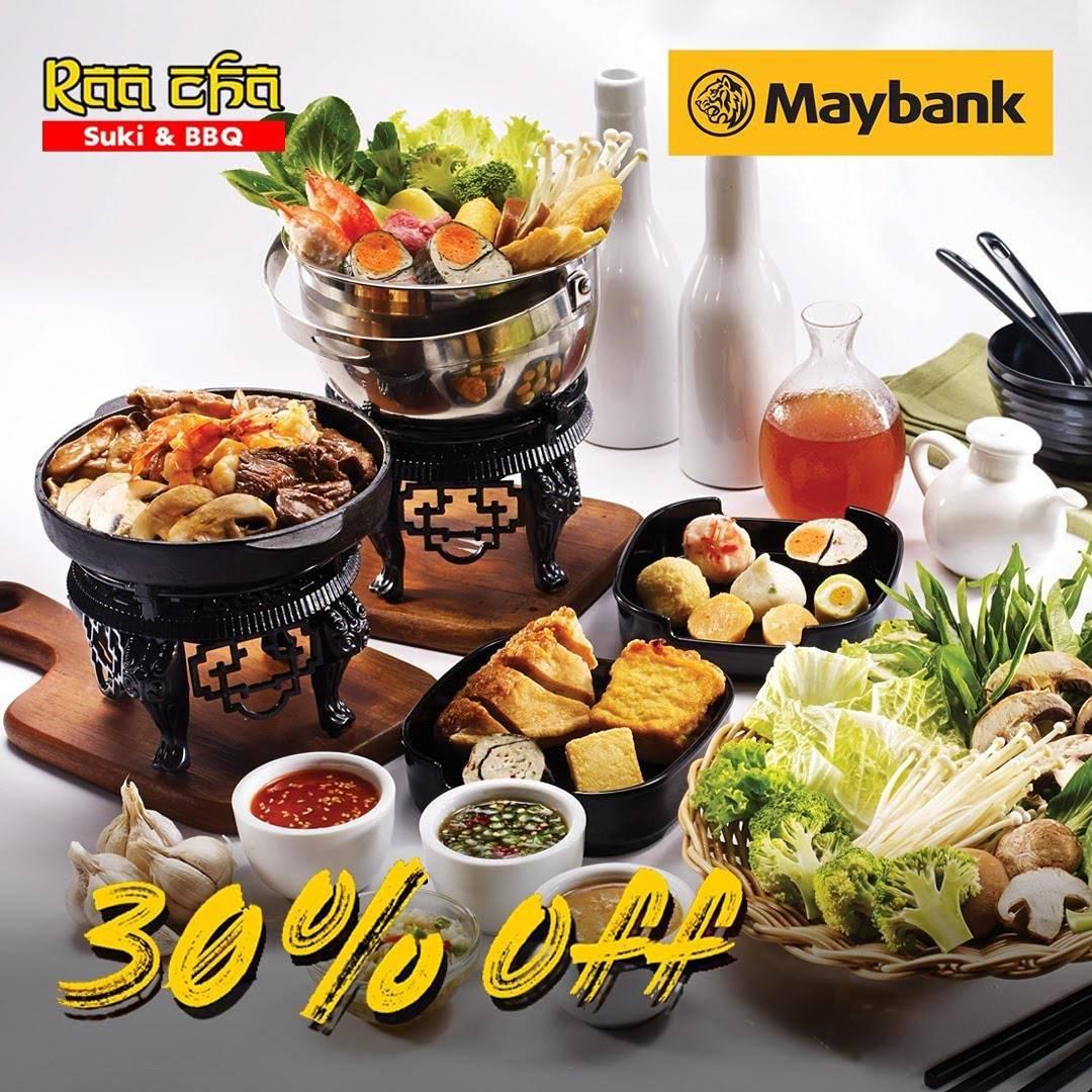Diskon Raa Cha Diskon 30% Dengan Kartu Kredit Maybank