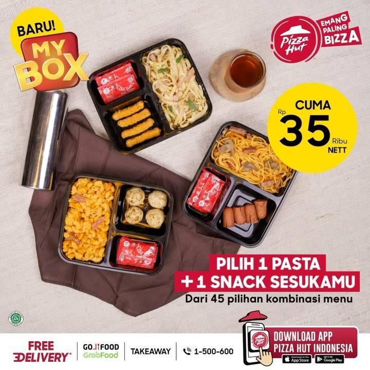 Diskon Pizza Hut Promo My Box Hanya Rp. 35.000