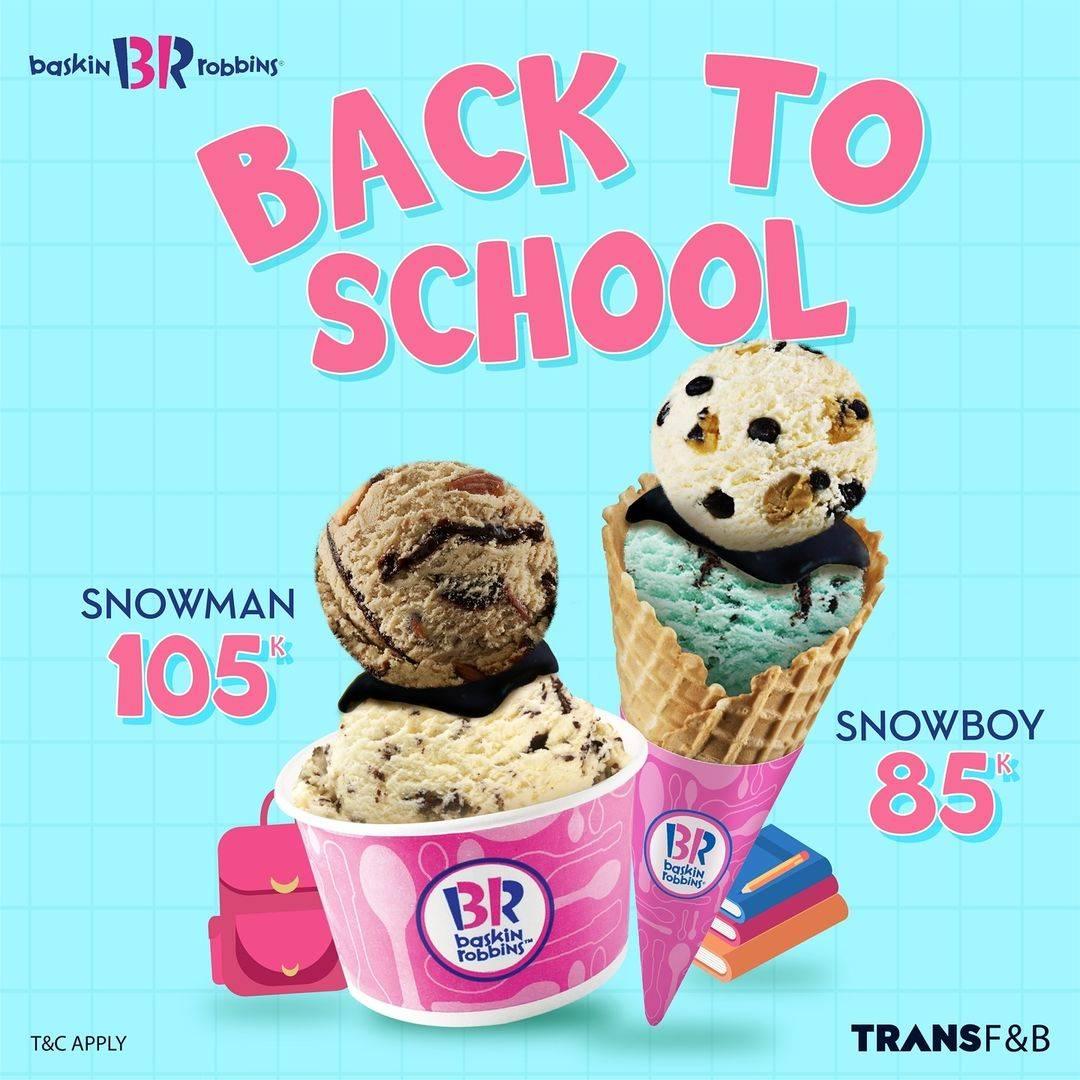Diskon Baskin Robbins Promo Back To School Mulai Dari Rp. 85.000
