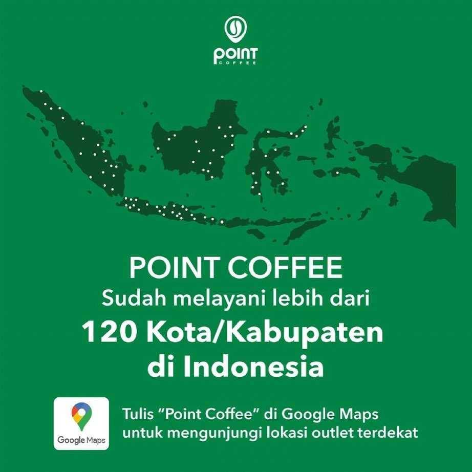Promo diskon Point Coffee Promo Kiwi Pandan + Polo Cokelat Mulai Dari Rp. 25.000