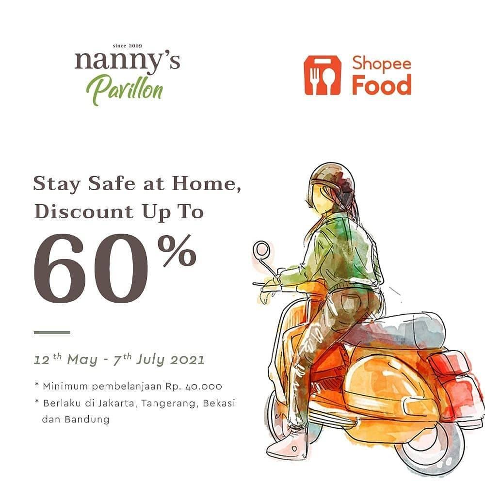 Diskon Nannys Pavillon Discount Up To 60% Off On ShopeeFood