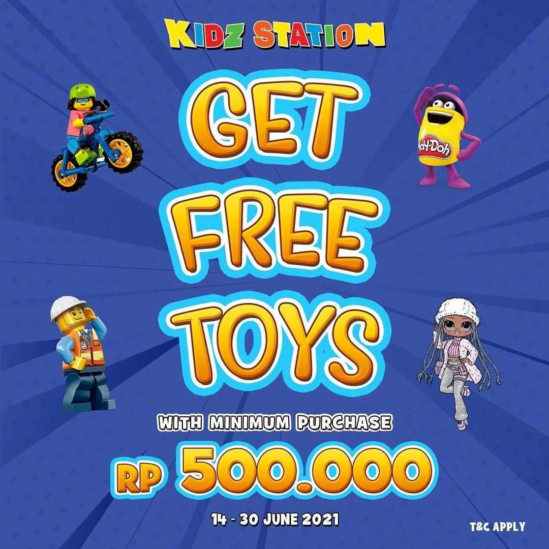 Diskon Kidz Station Get Free Toys