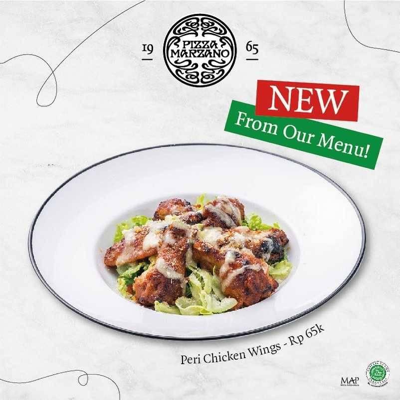 Promo diskon Pizza Marzano Promo New Menu Start From Rp. 38.000