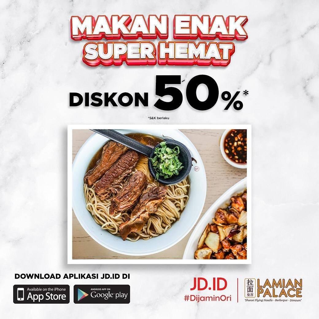 Diskon Lamian Palace Diskon 50% Dengan JD.ID