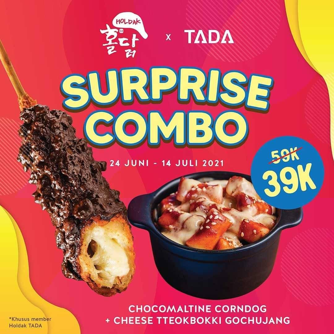 Diskon Holdak Promo Surprise Combo Hanya Rp. 39.000