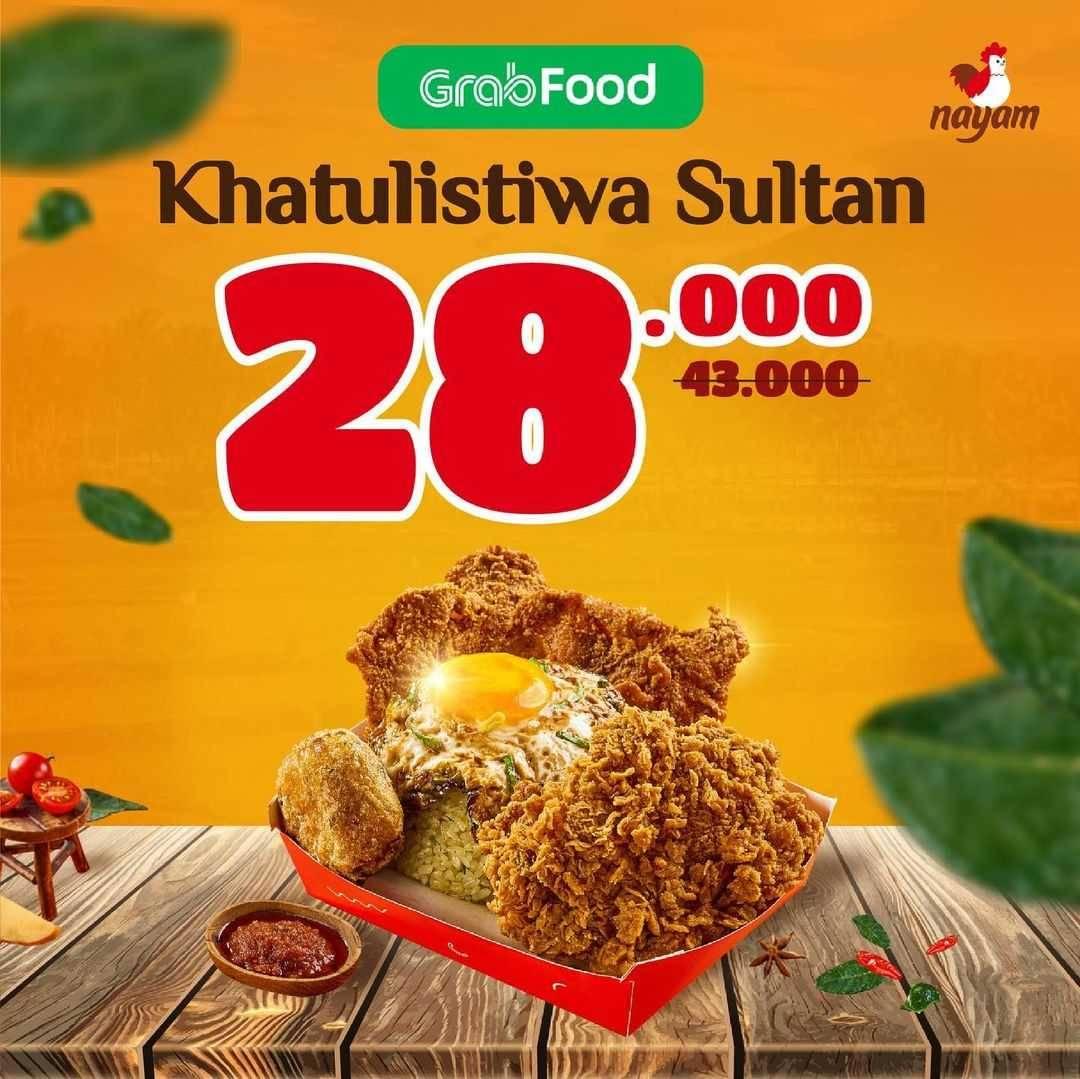 Diskon Nayam Promo Khatulistiwa Sultan Hanya Rp. 28.000