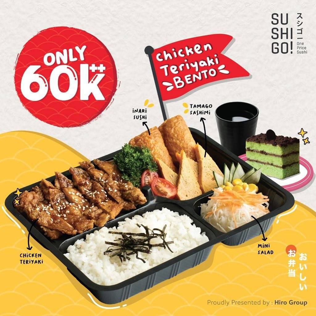 Diskon Sushi Tei Promo Gyudon Bento Hanya Rp. 65.000++