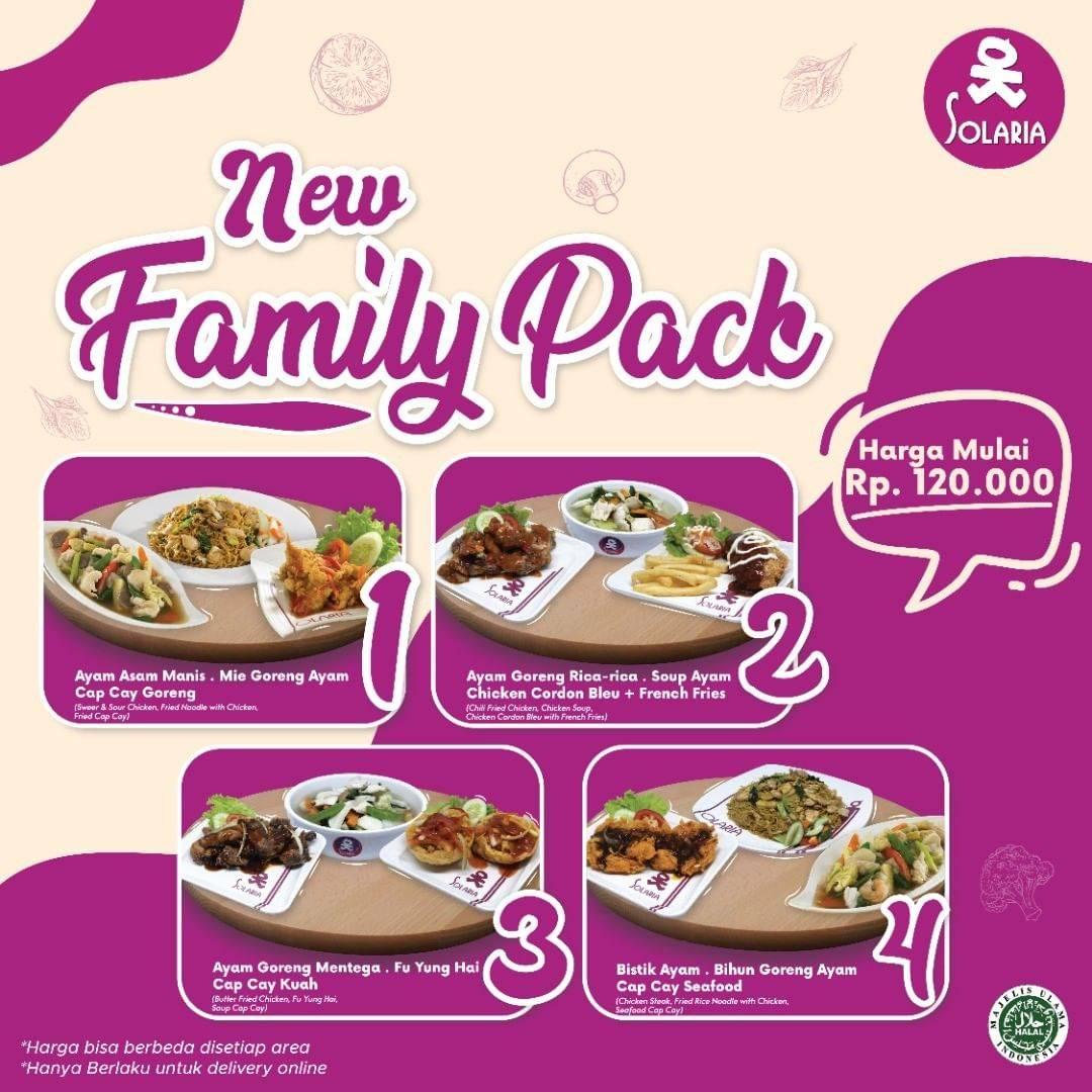 Diskon Solaria Promo New Family Pack Mulai Dari Rp. 120.000