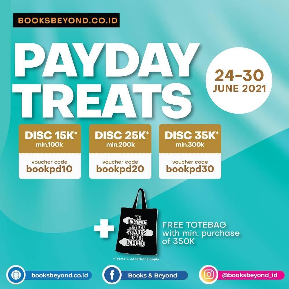 Diskon Books & Beyond Payday Treats Discount Hingga Rp. 35.000