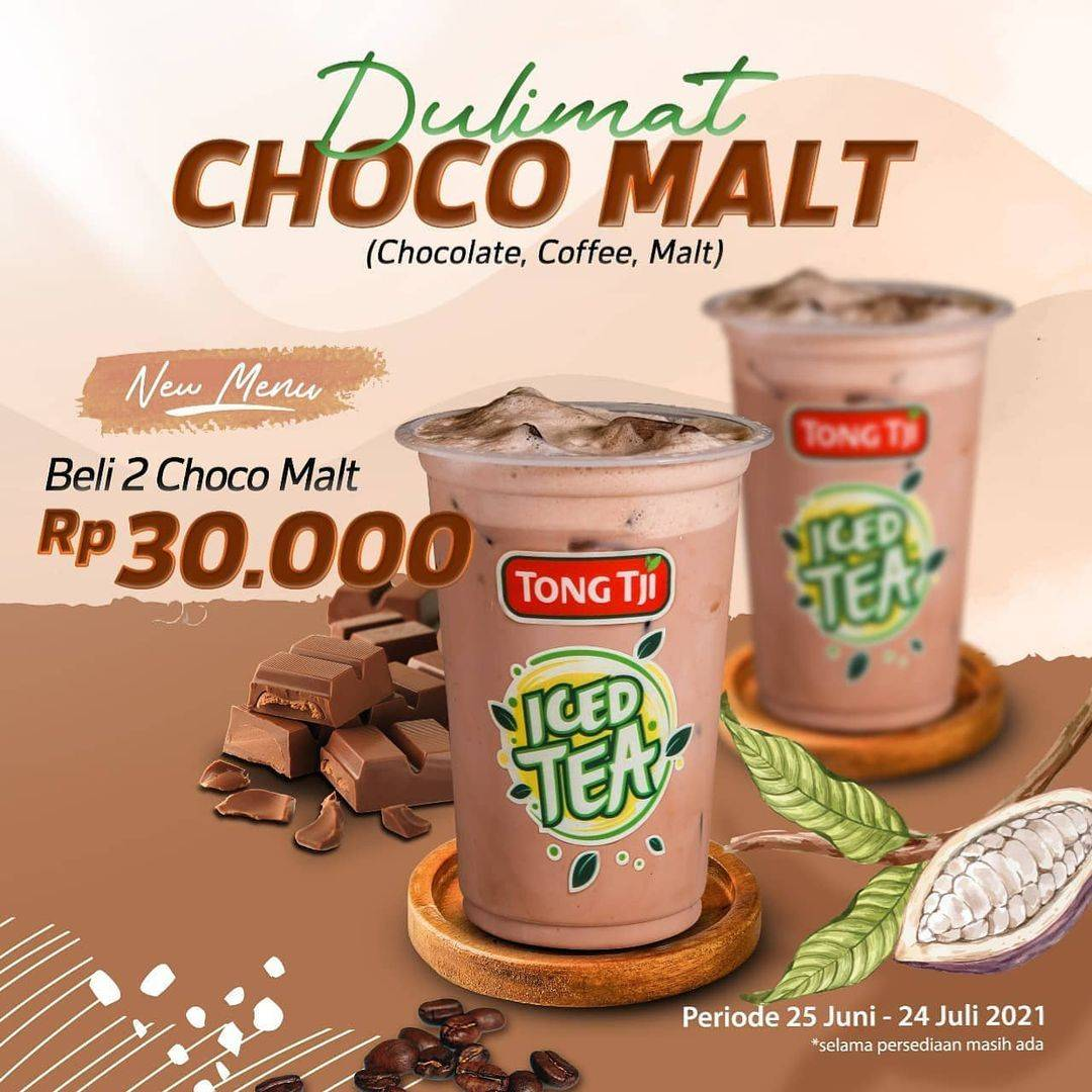 Diskon Tong Tji Promo Dulimat Choco Malt Hanya Rp. 30.000