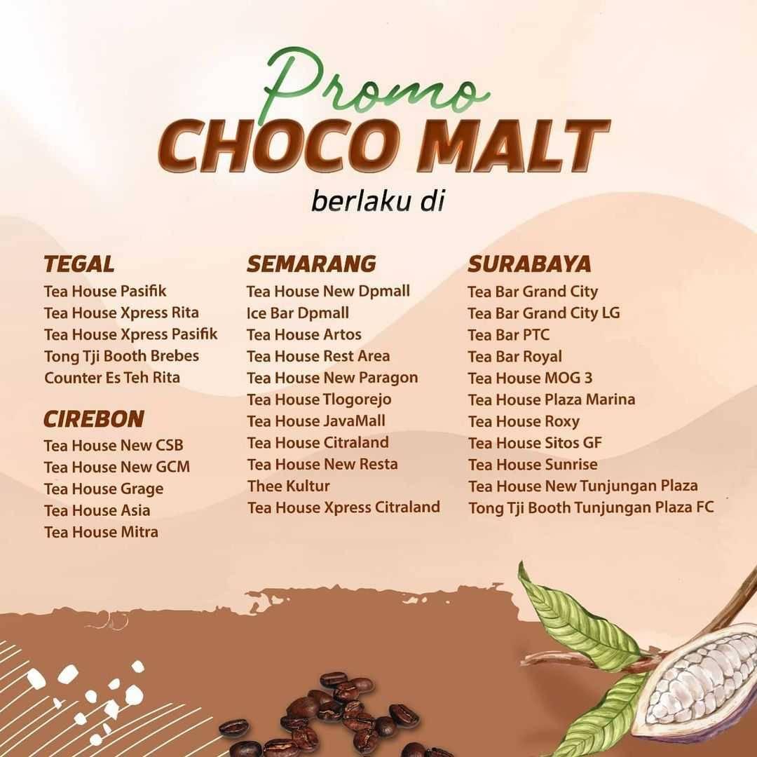 Promo diskon Tong Tji Promo Dulimat Choco Malt Hanya Rp. 30.000
