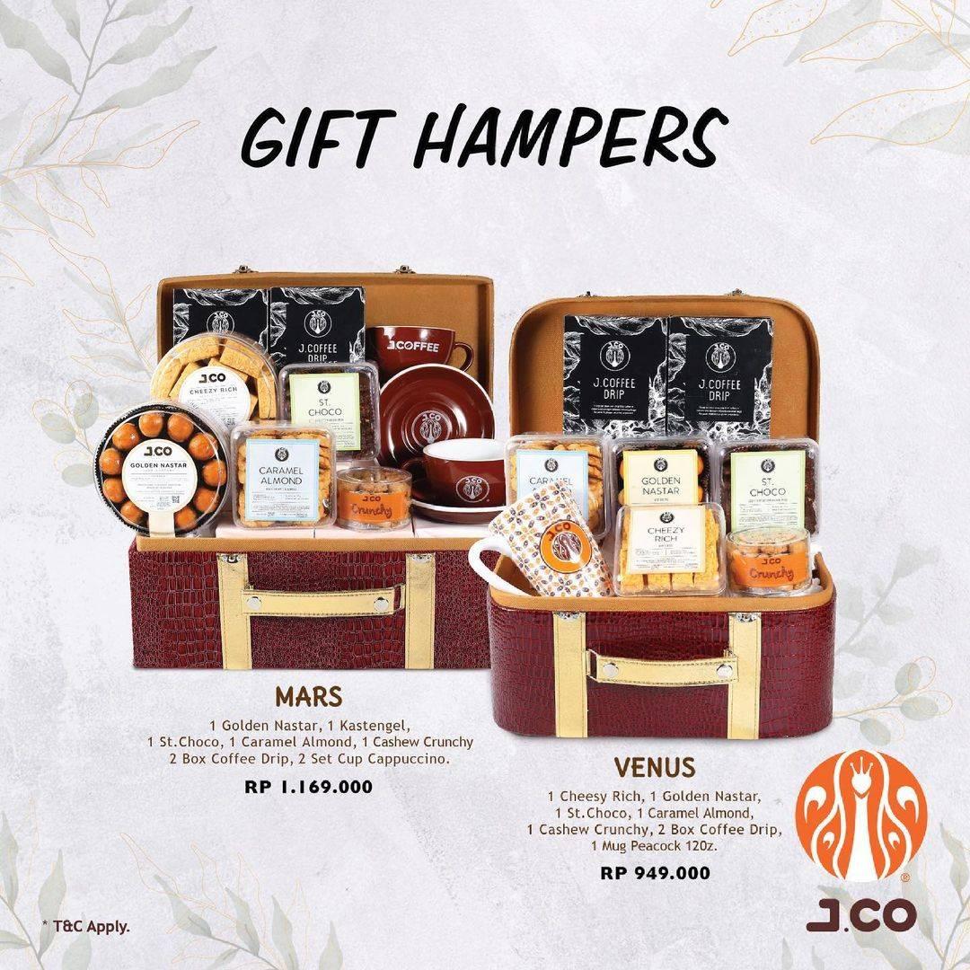Diskon JCO Promo Gift Hampers Mulai Dari Rp. 389.000