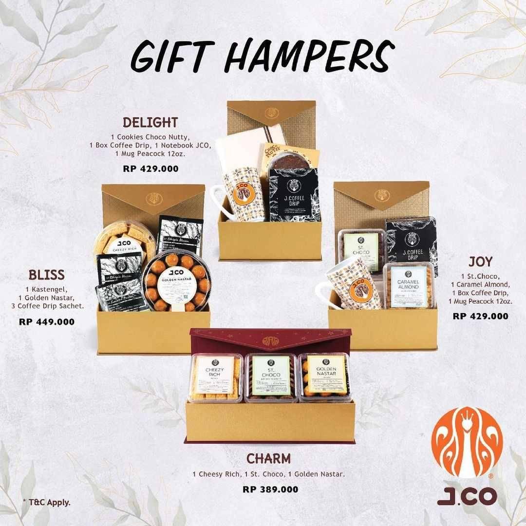 Promo diskon JCO Promo Gift Hampers Mulai Dari Rp. 389.000