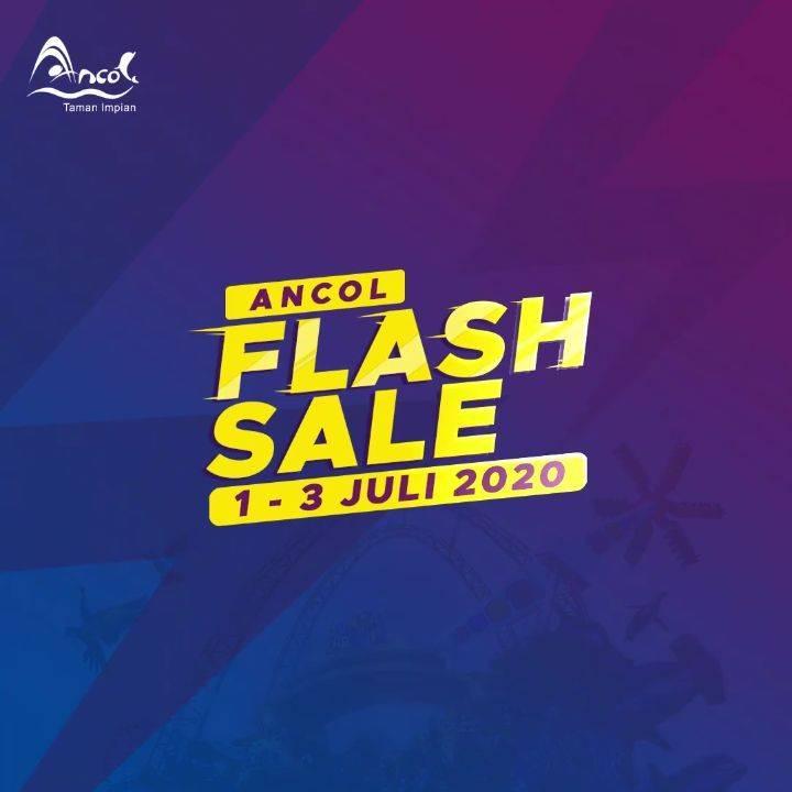Diskon Promo Ancol Flash Sale Periode 1-3 Juli 2020