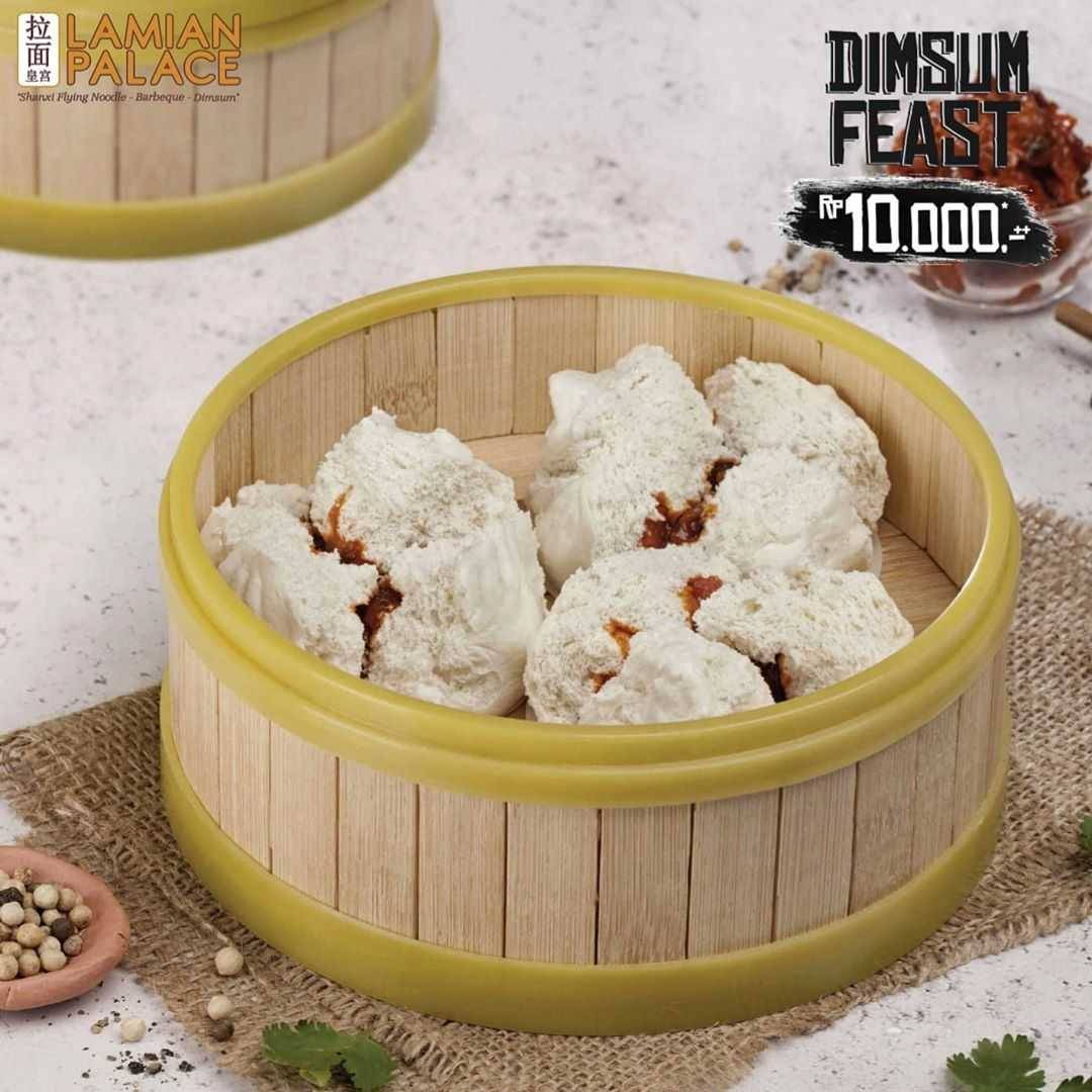 Promo diskon Promo Dimsum Feast Lamian Palace Special Value Favorite Dimsum Only For Rp. 10.000