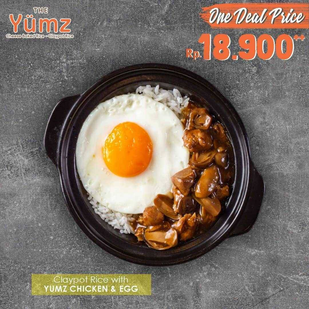 Promo diskon Promo One Deal Price The Yumz Favourite Menu Only For Rp. 18.900