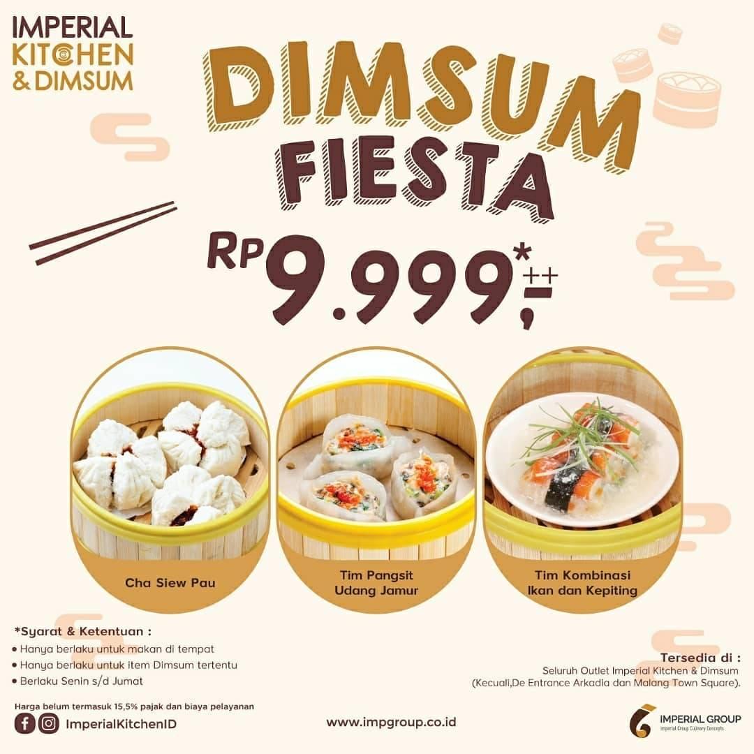 Diskon Promo Imperial Kitchen & Dimsum Harga Spesial Dimsum Fiesta Hanya Rp. 9.999