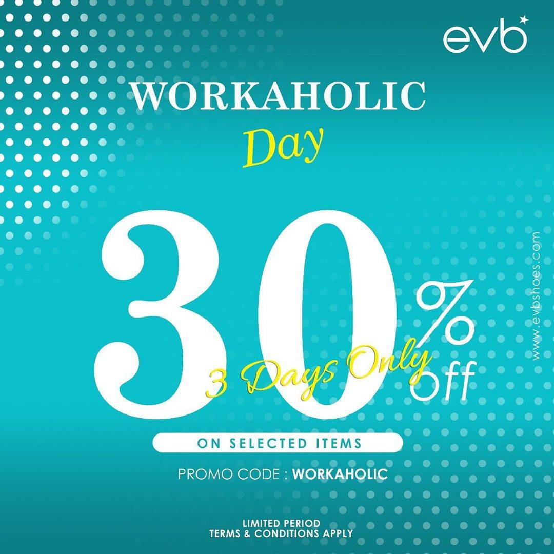 Diskon Promo evb Discount 30% Off On Selected Items
