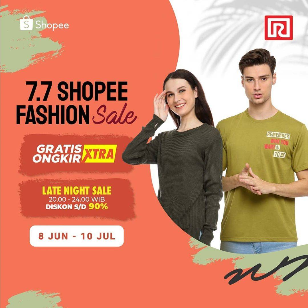Diskon Promo Ramayana Department Store 7.7 Shopee Fashion Sale